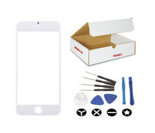 """White Front Outer Glass Lens Screen replacement Tools Fit iphone 8 4.7"""" inches"""