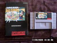 Super Mario All-Stars w/ Manual (Super Nintendo Entertainment System, 1993) SNES