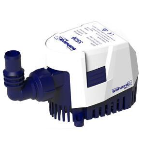 Attwood Sahara MK2 S500 Bilge Pump 500 GPH - 12V - Automatic  5505-7