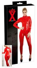 Sexy Tuta in lattice rosso Catsuit Latex Sex Toys shop Abbigliamento Fetish bdsm