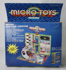 RARE VINTAGE 90'S MICRO TOYS MACHINES SERVICE CENTER PLAYSET KIDMATE NEW !