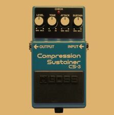 New Boss CS-3 Compression Sustainer Effect Pedal for Guitar, Free Shipping