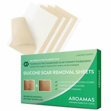 Aroamas, Silicone Scar Removal Sheets - for Keloid, C-Section, Hypertrophic,