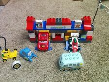 LEGO DUPLO Disney Pixar Cars The Pit Stop (5829) LEGOS RETIRED & RARE