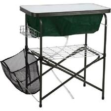 Ozark Trail Kitchen Storage Stand With Built in Cooler Camping Outdoor Cooking