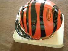 CARSON PALMER Autographed Cincinnati Bengals Mini Helmet W/Plastic Case All Pro