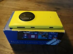 Unlocked Nokia Lumia 1020/Yellow/32GB/Upgraded to Windows 10 Mobile/Fully Boxed