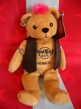 HRC Hard Rock Cafe Munich München Punk Bear Mohawk 2010 Pink Hair Herrington