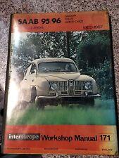 Saab 95/96 (1962–1967) Intereurope Workshop Manual 171