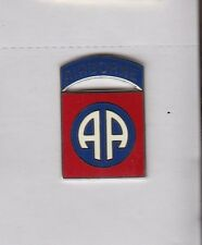 US ARMY 82nd AIRBORNE DIVISION patch style crest DUI badge CB Clutchback D-22