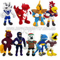 NRL 28cm Plush Team Mascot 'Select Your Team' Kids Gift Soft Toy