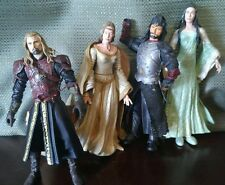 "Lord Of The Rings 6"" Figures Lot of 4 2002 2003 2004 Display or Play Figurines"