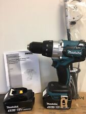 "New Makita XPH07Z 18V LXT 1/2"" Brushless Hammer Drill Driver + (2) BL1850 Batts"