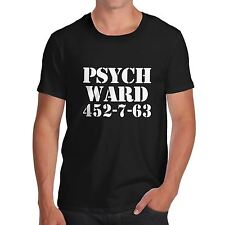 Twisted Envy Men's Psych Ward 452-7-63 Novelty T-Shirt