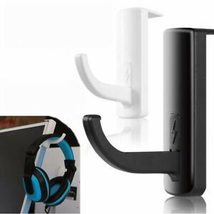 Headphone Holder Hanger Wall PC Monitor Stand Durable Headphone Headset Hanger