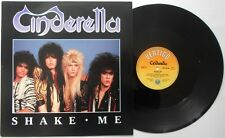 "CINDERELLA Shake Me  12"" Ps, 3 Tracks Inc Night Songs+Hell On Wheels, Verx 29"
