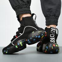 Men's Sneakers Outdoor Lightweight Basketball Running Shoes Sports Tennis Walk