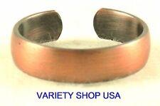 Antiqued Copper Designer Ring Adjustable Band 3028-G