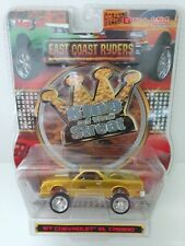 Diecast 1/64 Toy unopened 1987 Chevy El Camino Donk East Coast Ryder's Gold