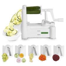 Spiralizer 5blade Vegetable Slicer Strongestandheaviest Duty Best Veggie