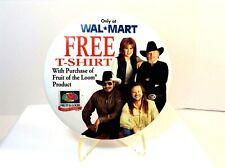 Walmart Promo Pinpatty Loveless=Charlie Daniels=Travis Tritt=Hankwilliam Jr