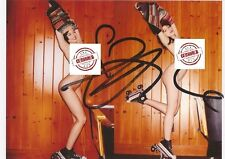 STRICTLY COME DANCING: DAISY LOWE SIGNED 6x4 NUDE MODELLING PHOTO+COA **PROOF**
