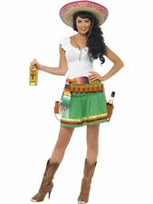 Smiffys Déguisement Femme Serveuse Tequila Robe ceint