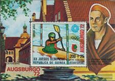 Guinée équatoriale Bloc 9 (complète edition) oblitéré 1972 Jeux Olympiques Été ´