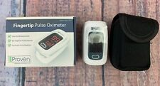 New Version iProven Pulse Oximeter Fingertip Oxygen Saturation Monitor