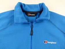 Hs76 Berghaus polar fleece zip neck overhead sweatshirt size S, excellent cond!