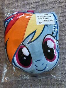 My Little Pony Travel Blanket Brand New One Size