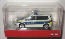Herpa 093576 VW Touran Polizei Brandenburg 1:87 Spur H0