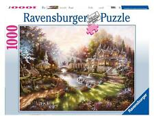 RAVENSBURGER JIGSAW PUZZLE MORNING GLORY KLAUS STRUBEL 1000 PCS #15944