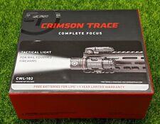 Crimson Trace Long Gun Rail-Attached LED Tactical Light + Remote 500lum  CWL-102