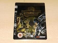 Mortal Kombat Vs DC Universe PS3 Playstation 3 RARE STEELBOOK EDITION