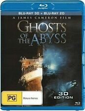 Ghosts of the Abyss (Blu-ray Disc, 2016, 3D)