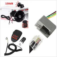 Car Warning Alarm Police Fire Siren Horn PA Speaker System150dB  7Sound Loud100W