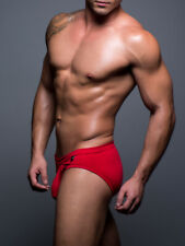 ANDREW CHRISTIAN BASIX COMFORT RED BRIEF RED - LARGE