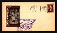 Philippines SC# 385 on 1935 Cacheted FDC / Light Creasing - Z16331