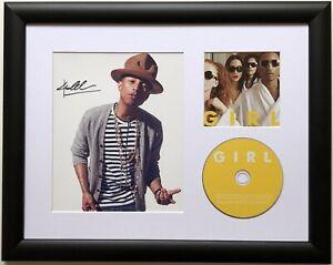 Pharrell Williams / Signed Photo / Autograph / Framed / COA