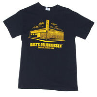 KATZ'S DELICATESSEN NEW YORK DELI RESTAURANT NYC Men's T-Shirt Food Tee Small
