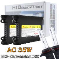 AC 35W Xenon HID BI-XENON HI/LOW DUAL BEAM KIT H4 H13 9004 9007 9008 Bulbs PL