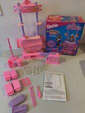 Vtg 1994 Barbie Bubble Gum Shop #12710 Mattel Working Bubble Gum Machine w/ Box