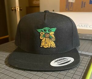 Baby Yoda Embroidered Hat The Child The Mandalorian