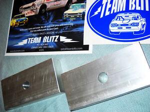 Ford Capri Lowering Blocks In 6061 Aluminum For Leaf Springs