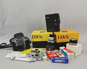 99870046 Kamera Pentacon EXA 1b mit Zubehör