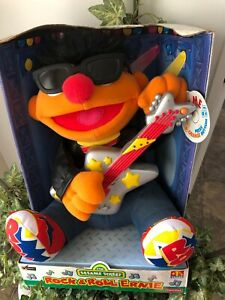 Sesame Street Rock n Roll Ernie Animated Plush Sing-a-Long Doll Music New in Box