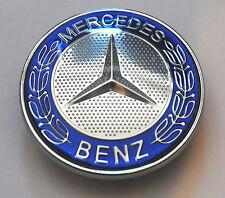 MERCEDES BENZ SPORT COFANO STEMMA - 57mm NUOVO - C E S CLK AMG CLASSE W203