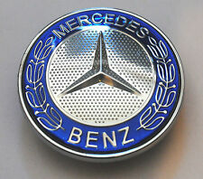 MERCEDES BENZ SPORT capot Badge - 57mm NEUF - C E S CLK AMG Classe Emblème W203