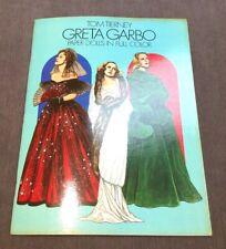 Vintage Greta Garbo Paper Dolls Collection Full Color Tom Tierney
